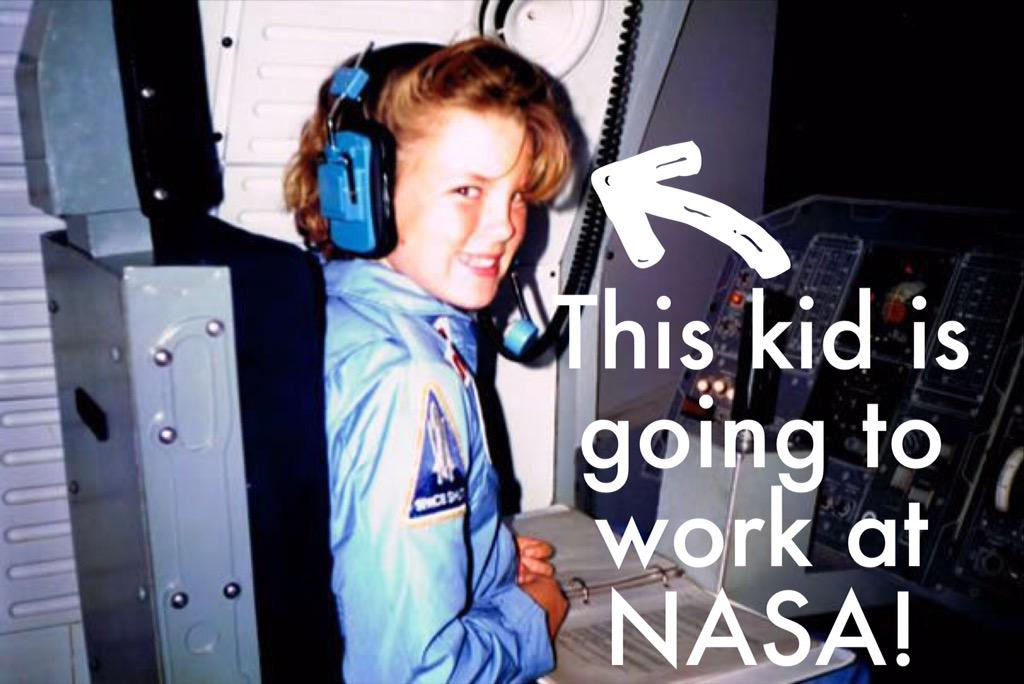 28 years ago, I went to @SpaceCampUSA. In 2 weeks, I'll start a job @nasa. Dreams come true!  https://t.co/7s3KIiUGIs http://t.co/crknIFsiTs