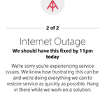 You're right @gamoid. Comcast is reporting an outage. http://t.co/OZWN17kWEW
