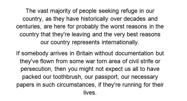 Saddened by loss of Charles Kennedy. 10+ years ago when the asylum debate was at its most toxic, this is what he said http://t.co/kAGNEeAiwl