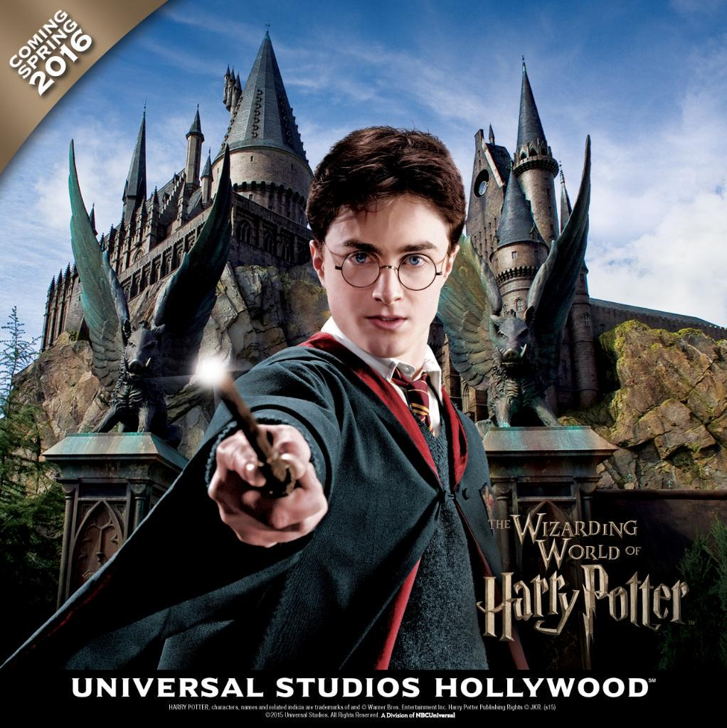 Just announced: The Wizarding World of Harry Potter™ is coming Spring 2016! #WizardingWorldHollywood http://t.co/kNG7VFcOoK