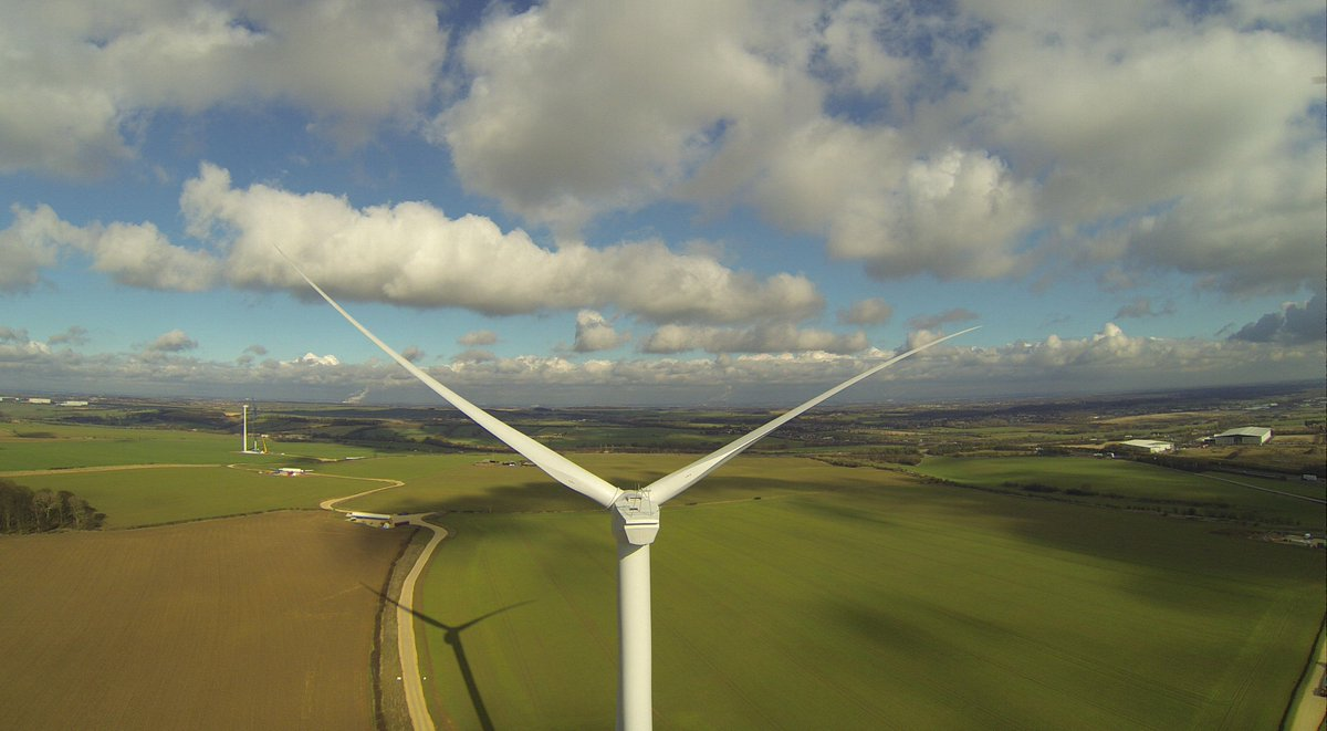 At the moment, #windpower in the UK is generating more than coal! #wind #greenenergy