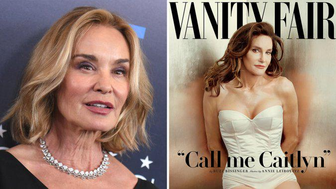 Jessica Lange Says Caitlyn Jenner Comparisons Are