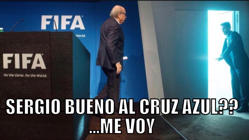 Las reacciones de Sergio Bueno al @Cruz_Azul_FC @SanCadilla @jorrgevergara @franco_record @fersch_4 @Rene_Tovar http://t.co/d519g9cFdq