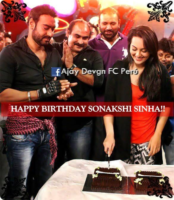 Happy Birthday Sonakshi Sinha from fans of sir ^_^   :)