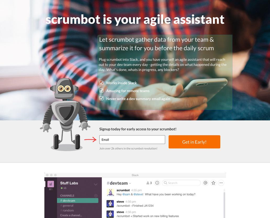Scrumbot: Your agile assistant for Slack http://t.co/PQ6zzZK4zu http://t.co/OPvQiufUPB