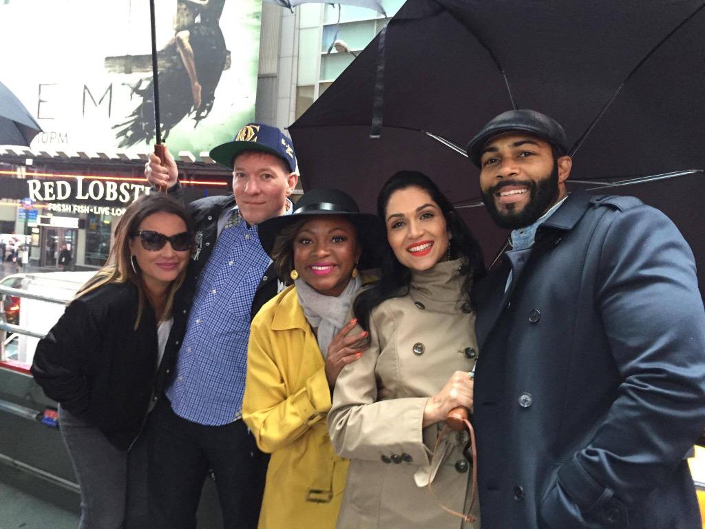 RT @CKAgbohOfficial: My babies out in Times Square RIGHT NOW with @angiemartinez #PowerTakesNYC #powerreturns #blessed http://t.co/ahTCxSbk…