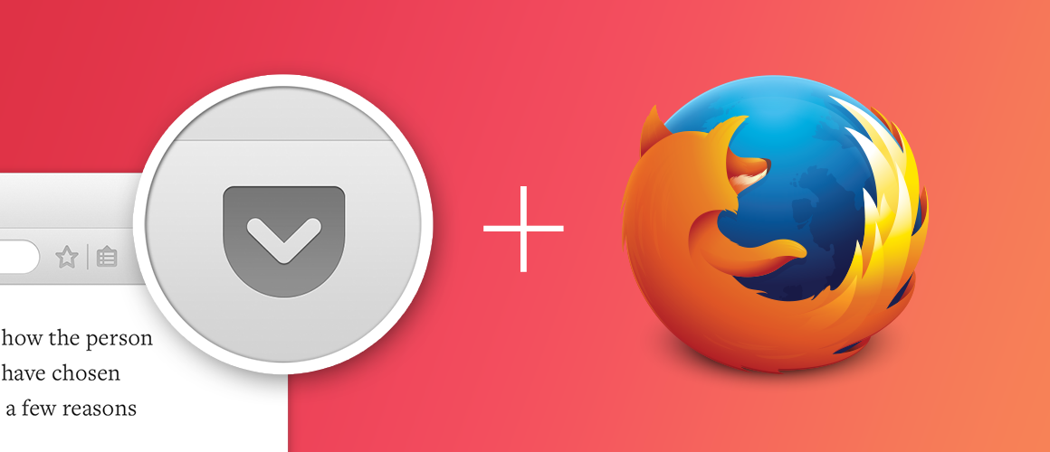 Pocket is now built into @Firefox! Learn more about this exciting partnership and integration: http://t.co/30C1k6d4Tw http://t.co/sIJZOt5tlY