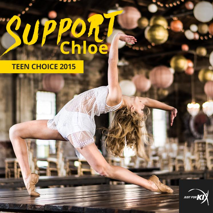 Today is the last day to vot @chloedancer3 for #ChoiceDancer VOTE VOTE VOTE!