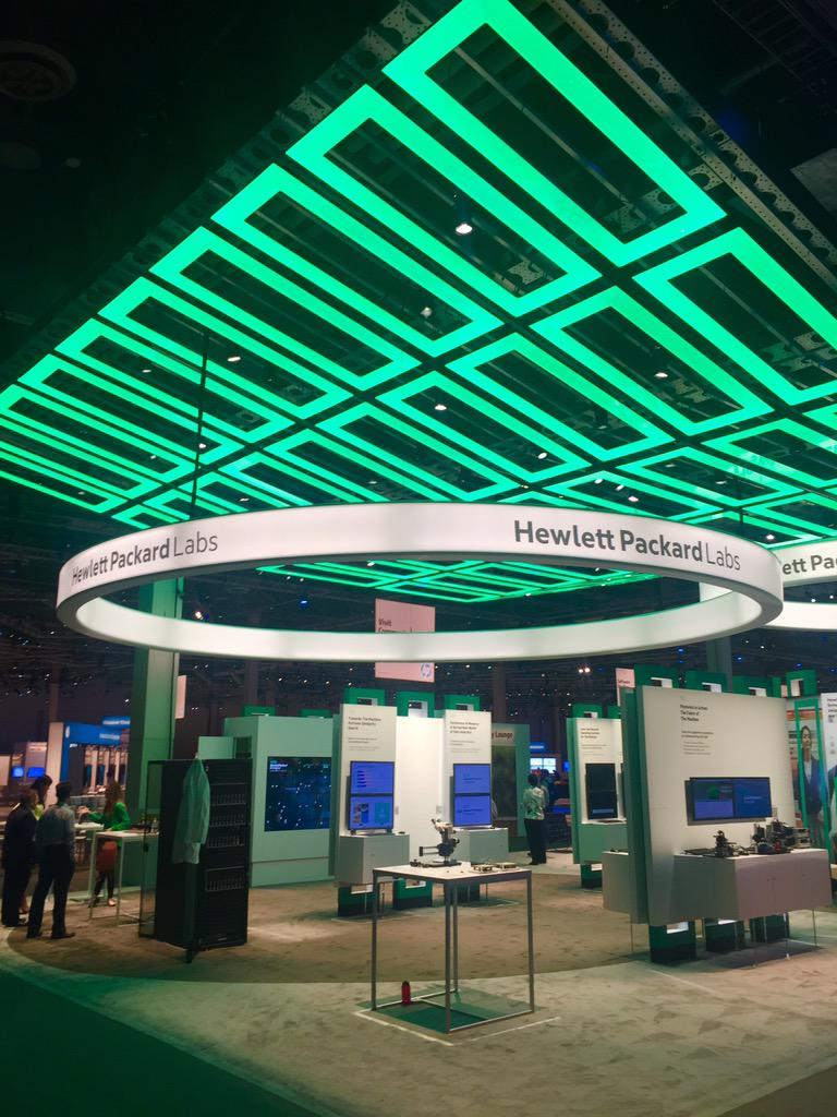 Day 1 of #HPDiscover. Come by the HP Labs Pavilion to see the demos and meet our researchers. http://t.co/BdRSxzRUbF