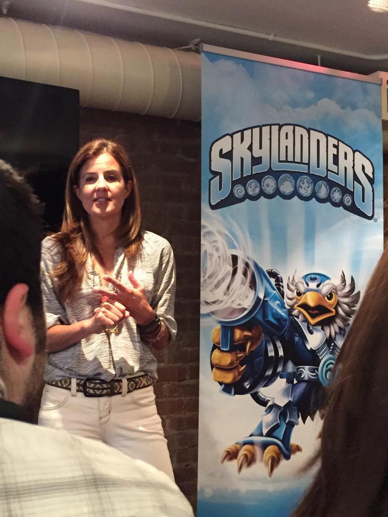 So excited to celebrate @SkylandersGame with #MTSkylanders http://t.co/Y2jtcOTxff