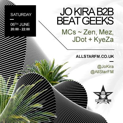 This Saturday myself b2b @BeatGeeks w/ @ZenLeeds @UncleMez @Jdotnotts & @Kyeza_ on @AllStarFM urrrgh #GRIME