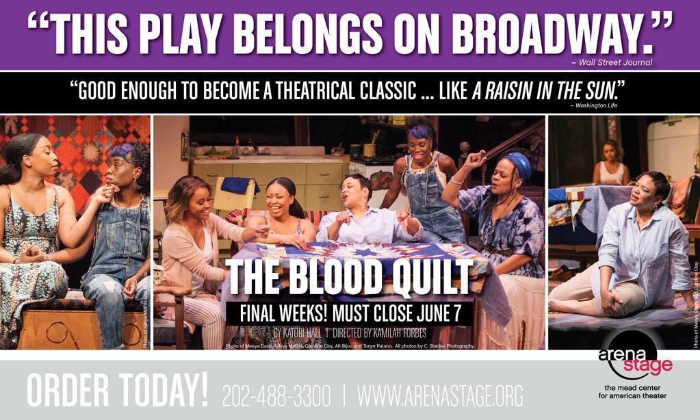 Last week to see my play #TheBloodQuilt at @ArenaStage!! Please Fam RT or come see it! http://t.co/hoY8zhZZpj