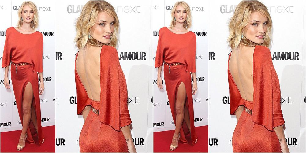 .@RosieHW at Glamour Women of the Year Awards in @Brian_Atwood heels + @JenMeyerJewelry with @CherCoulter styling. http://t.co/90UJPMYXmU
