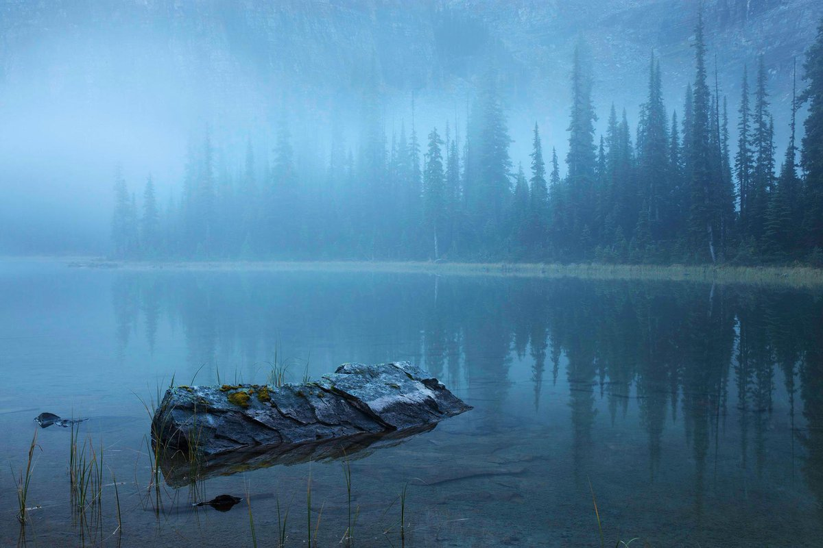 Mary Lake, Canada. Photo by Peter Essick #NFTO http://t.co/0LNU3p1dMx
