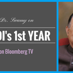 RT @vhsindia: आत्म निर्भरता the rallying cry for Modi gov. next year, avers @Swamy39 in this Bloomberg itvw- http://t.co/htBSOotCX3 http://…