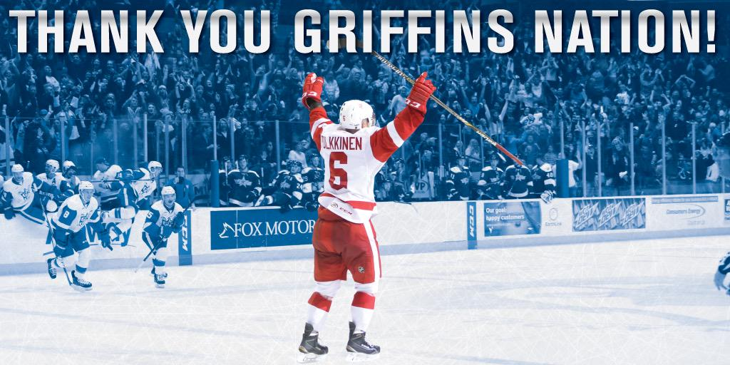 Thank you #GriffinsNation for your amazing support this season! We've had a blast with you. #BestFans #GoGRG http://t.co/9XxsG4VqZC