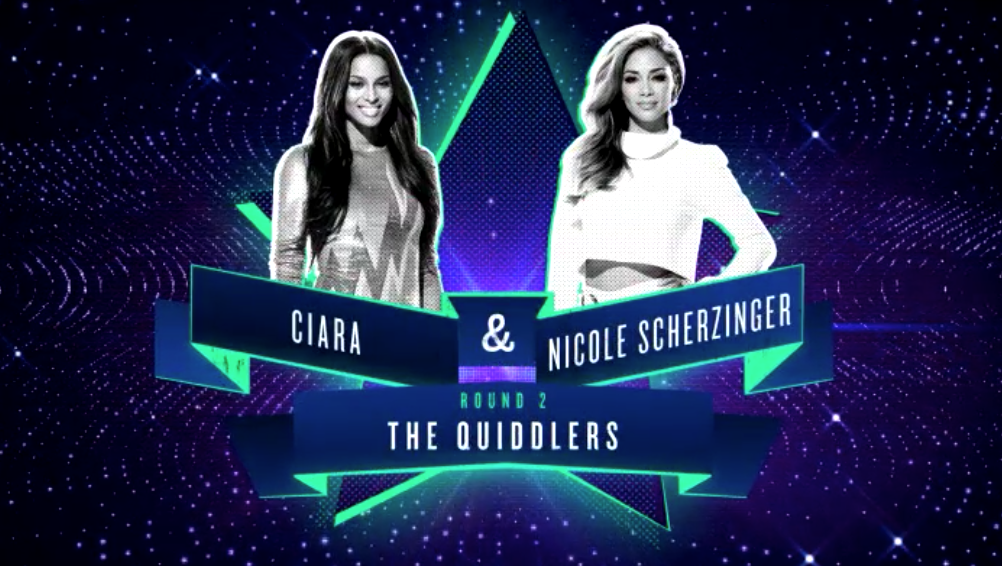 RT @NBCICanDoThat: Fun Fact: @ciara & @nicolescherzy are the very first female @Quiddlers ever! #ICanDoThat http://t.co/BjWSJ1X9dT