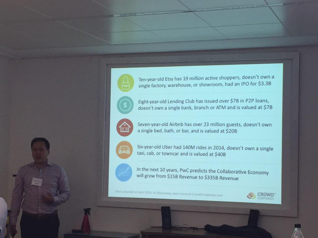 RT @mgrenacher: impressive! See the stats in the collaborative economy presented by @jowyang at @CrowdCompanies event #Bern #Swisscom http://t.co/msR5nPVHTX