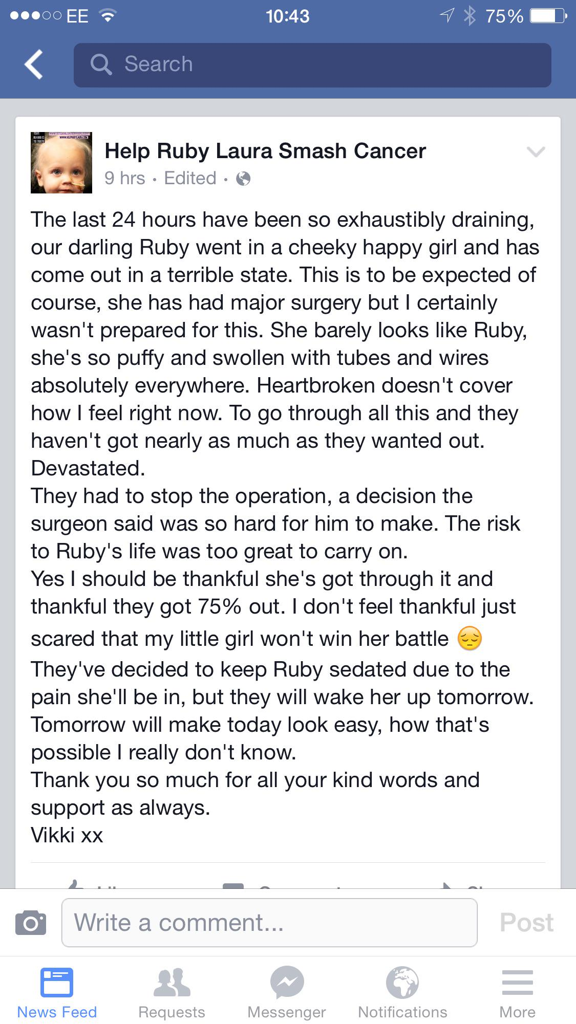 Give Ruby's Mum & Dad a boost today pleaseeeeeee !!!!! Even just £1 helps http://t.co/lSYo5BXoOv
