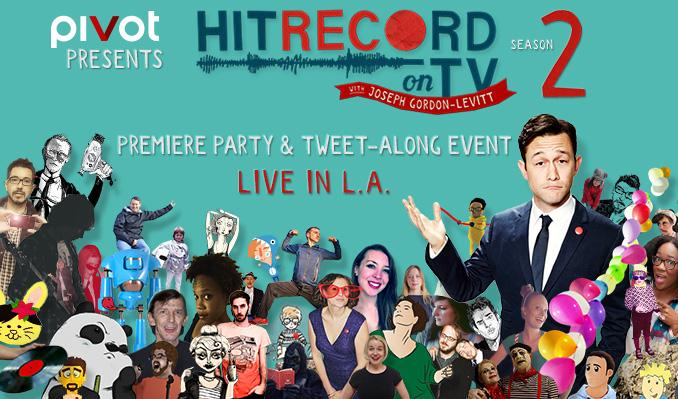 RT @FondaTheatre: RT 2 Win tix to see @hitRECordJoe @ the season 2 premiere of #HitRecordOnTV on @pivot on 6/12! http://t.co/lJRkQixLRo htt…