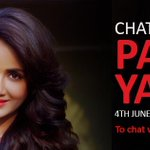 Chat with your favorite south Indian star @TheParulYadav on Thursday, 3 pm onwards, dial 58888123 http://t.co/bx0KevOgxC