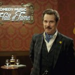 RT @IFC: .@PFTompkins gives @alyankovic an intro fitting of a Hall of Fame inductee: http://t.co/9mJ5M7xgMB  #ComedyMusicHOF http://t.co/8J…