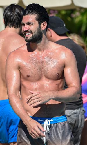 TOWIE's @Dan_Edgar1 makes a splash in Marbella with the boys - pics!