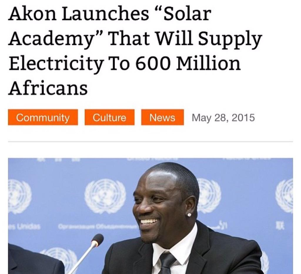 My brother @Akon does something as GREAT as this & I don't see it trending in the media... SALUTE!!! http://t.co/IjrmYweFpu