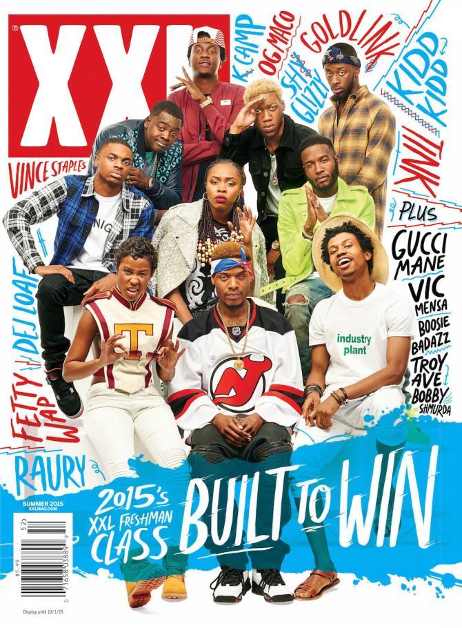 Congrats on that XXL freshman COVER @ItsKiddKidd ! new music coming @XXL #SMSAUDIO #EFFENVODKA #FRIGO http://t.co/qVXgjkSys3