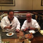 RT @WolfgangPuck: Here's a #WaybackWednesday post that won't disappoint. @Jon_Favreau at #CUTlv for @ChefTheFilm