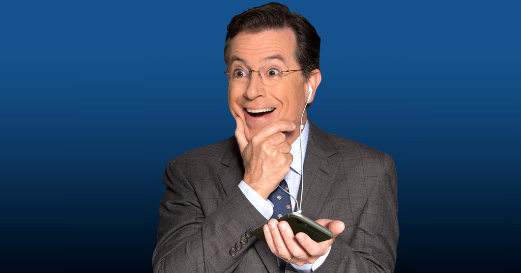 Just Launched: The Late Show Podcast with @StephenAtHome. http://t.co/lvmKObMjDe http://t.co/YwZq1lPjaO