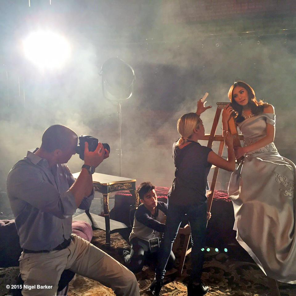 Behind the scenes of my shoot for Philippine Tatler shooting the stunning Sarah Geronimo @justsarahg here in Manila http://t.co/fafl9oHpDt