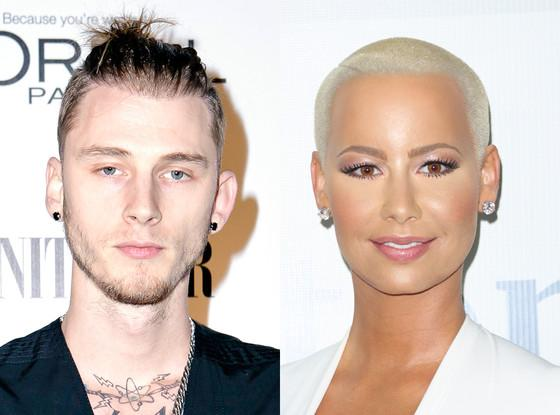 Amber Rose gushes over her new beau Machine Gun Kelly!
