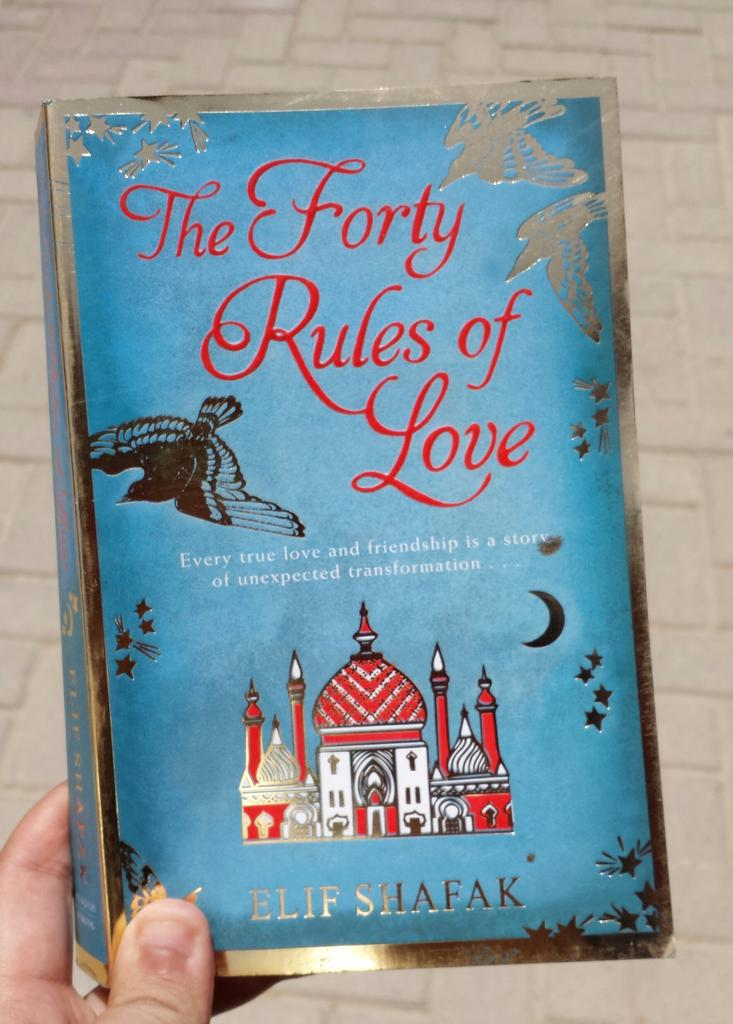 Book in hand. . The forty rules of love by Elif Shafaq. . #elifshafaq http://t.co/du6vo7p97T