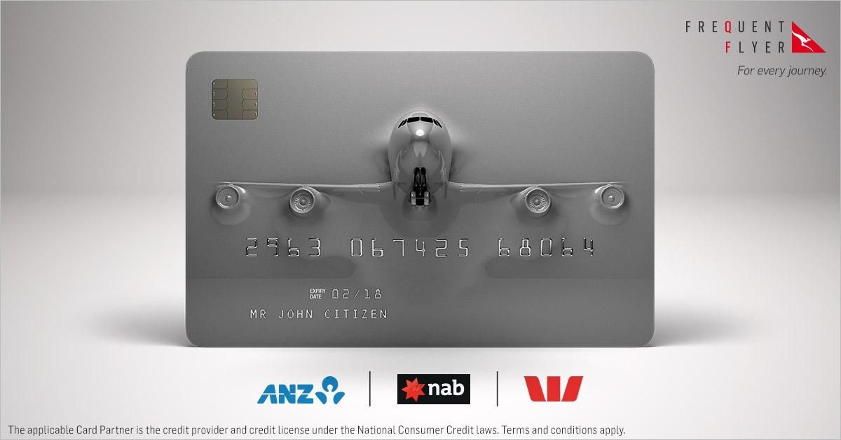 What's a fast way to fly away? A new QantasPoints earning Platinum credit card! T&Cs apply