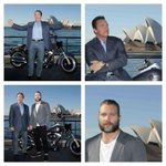 RT @ParamountAU: @Schwarzenegger and Jai are posing up a storm in Sydney! #TerminatorGenisys http://t.co/qABjLAng6Z