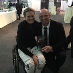 Great to hear @claire80lomas shout when I won award,only to find out it was cause she put a bet on me!!;)x http://t.co/AdIUGydoS3