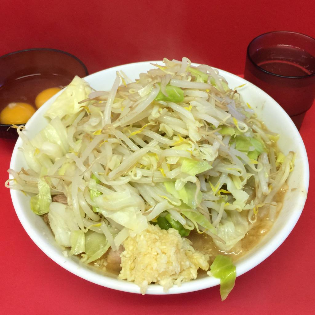 【画像あり】ほぼ毎日ラーメン二郎を食べている人、6/4仙台→6/5会津若松→6/6栃木と怒涛の行軍