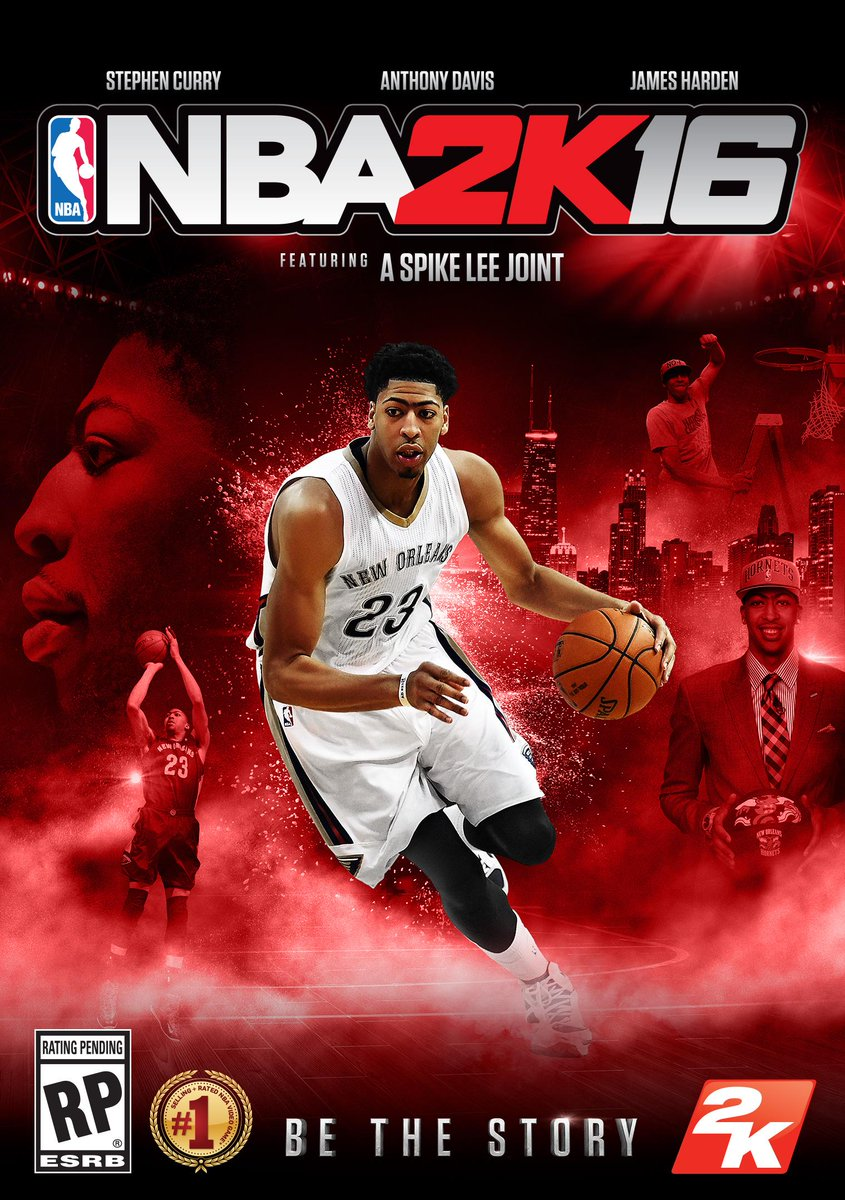 Check out your boy on the cover of @NBA2K #NBA2K16! Cop it 4 days early w preorder #BeTheStory http://t.co/AtC2nzOLYm http://t.co/XvVKgdifHs