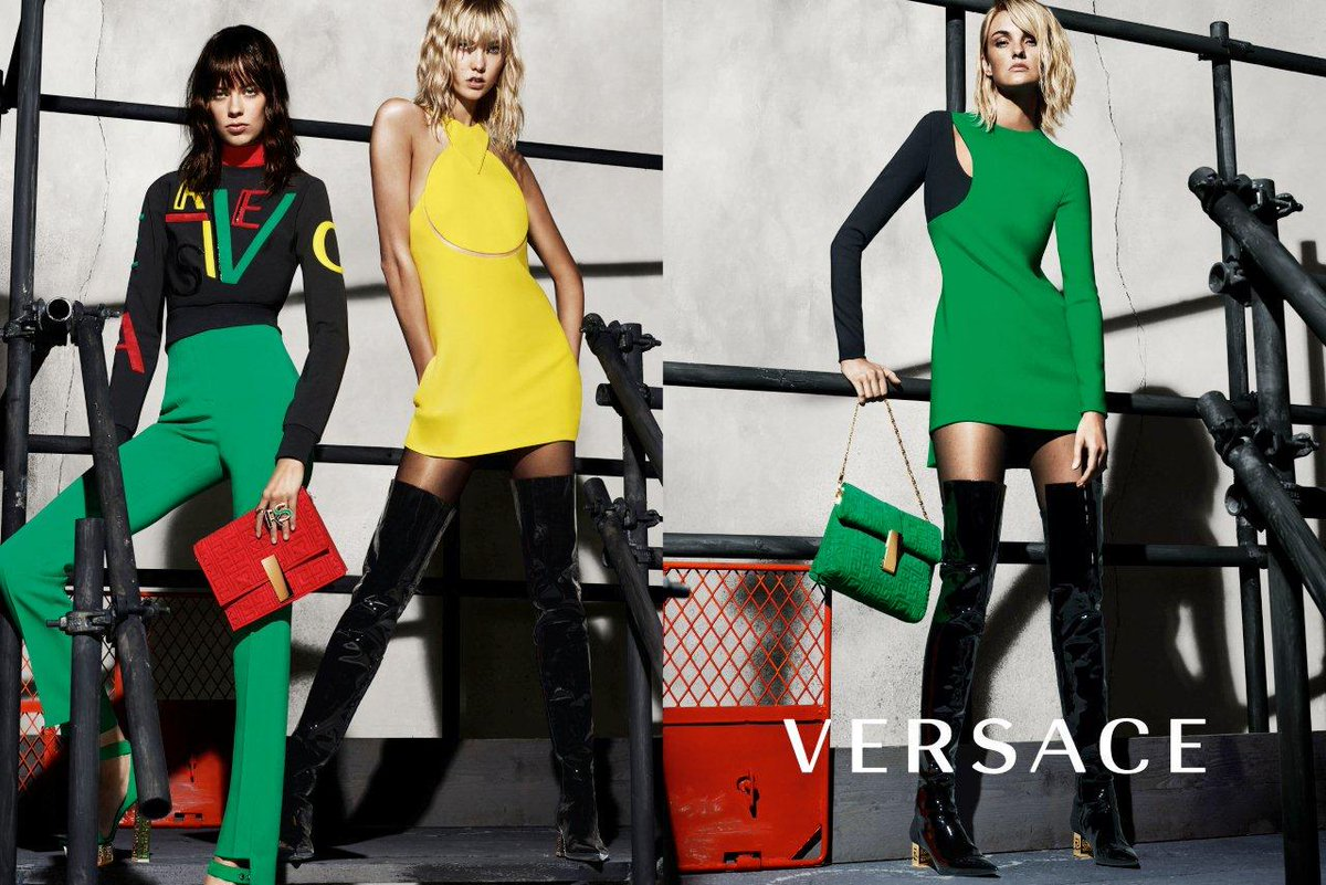 NICE ADS:  @Versace F/W '15 with @karliekloss, @LexiBoling, and @trentinireal http://t.co/oar5igdKtN