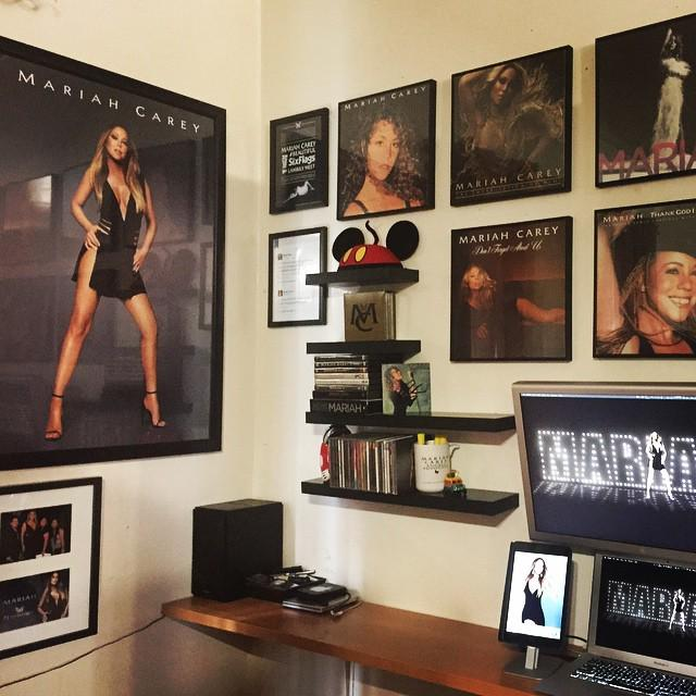 Cleaned my room and put some new frames up... #MariahCarey #lambily #Infinity #1toInfinity http://t.co/jvZi6SMkKr http://t.co/NziSIpBY9B