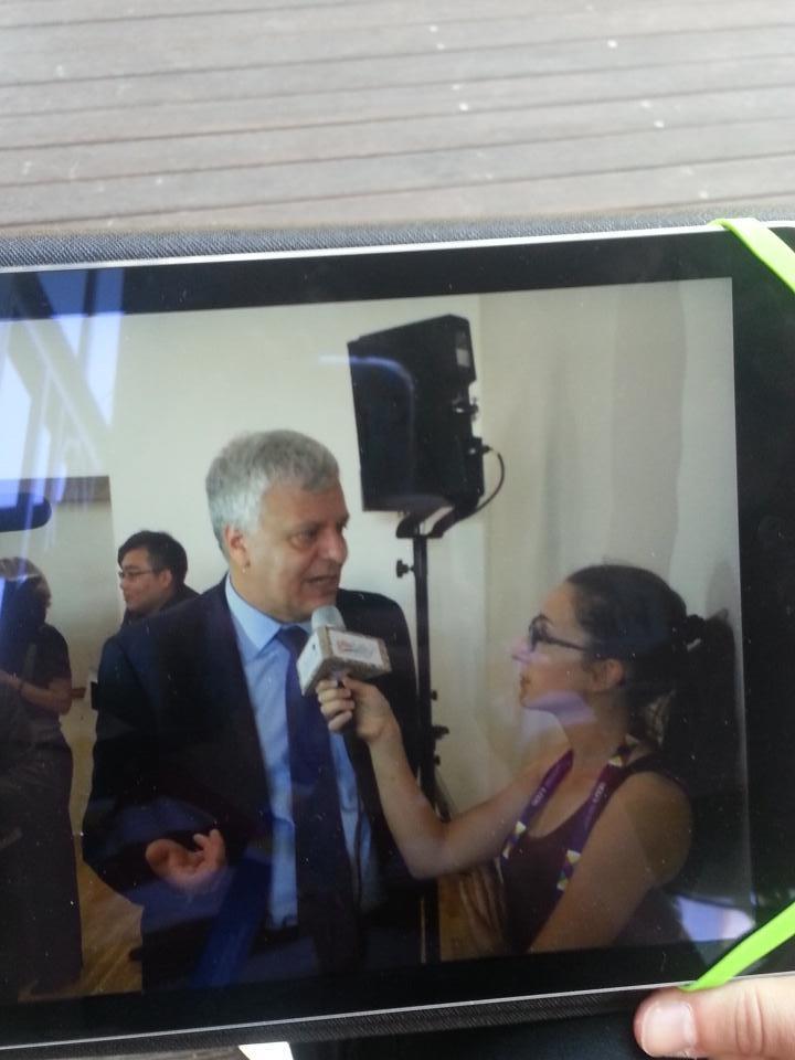 Intervista il Ministro Galletti sulle azioni dell'Italia in vista d #COP21 #Giornatamondialeambiente #gNeLab http://t.co/vkkxbypIsf