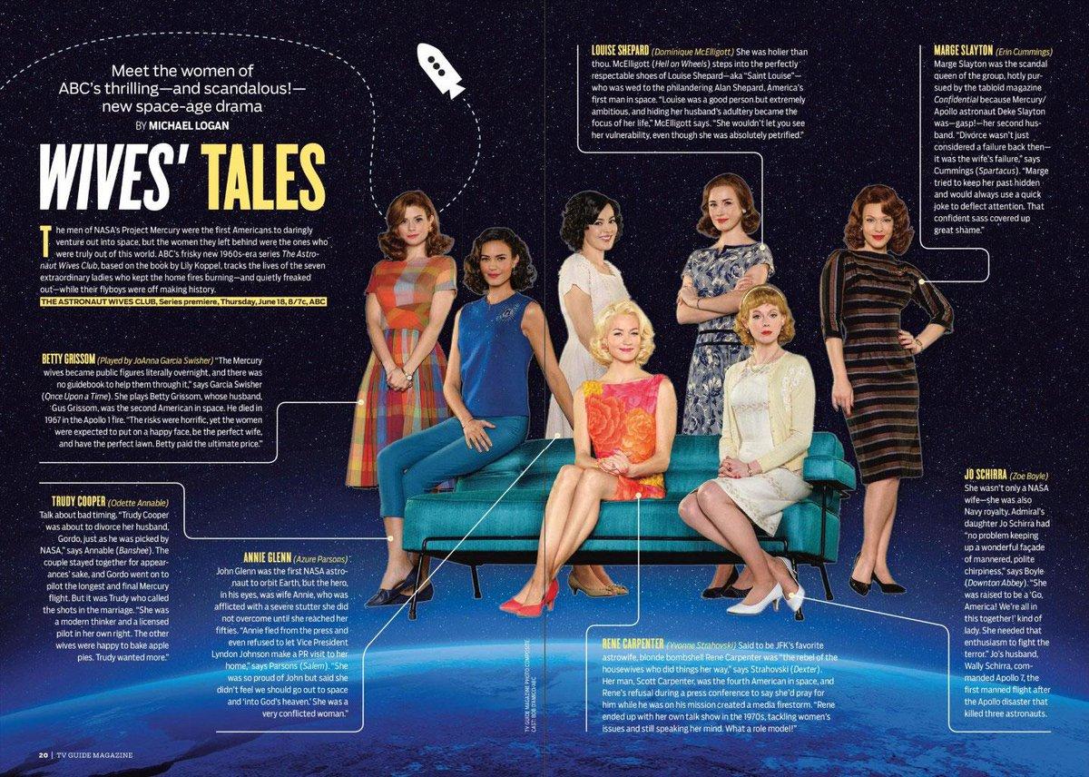 .@AstronautWives featured in new @TVGuideMagazine  @ErinLCummings @JoAnnaLGarcia @OdetteAnnable @Y_Strahovski http://t.co/4vbwvv4t6s