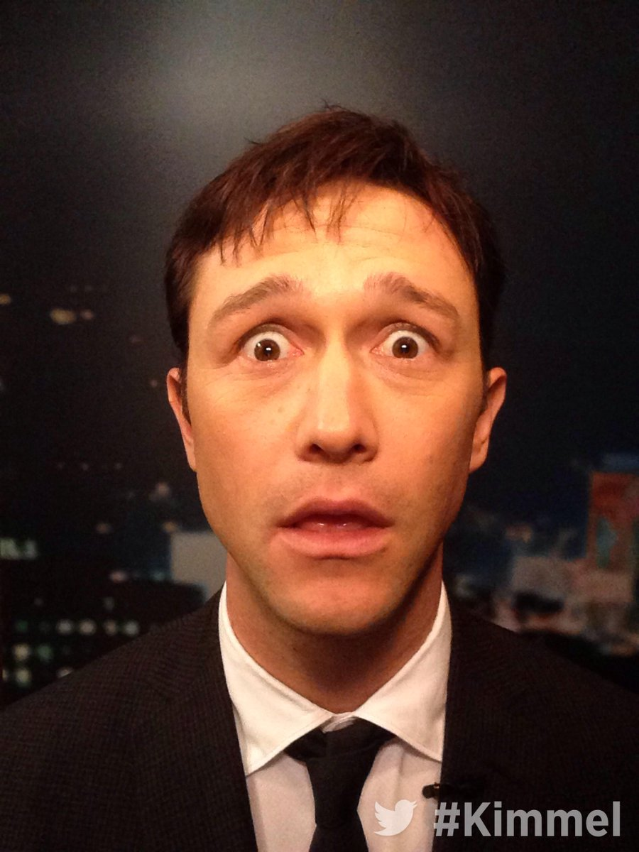 RT @JimmyKimmelLive: Backstage at #Kimmel. Tune in tonight at 11:35|10:35c on ABC with Joseph Gordon-Levitt @HitRECordJoe #HitRECordOnTV ht…