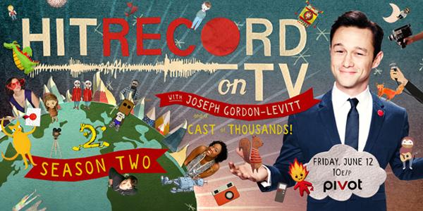 RT @pivot: Time for more films, music, animation & collaboration! #HitRecordOnTV starts Friday June 12! http://t.co/vkob83olme http://t.co/…