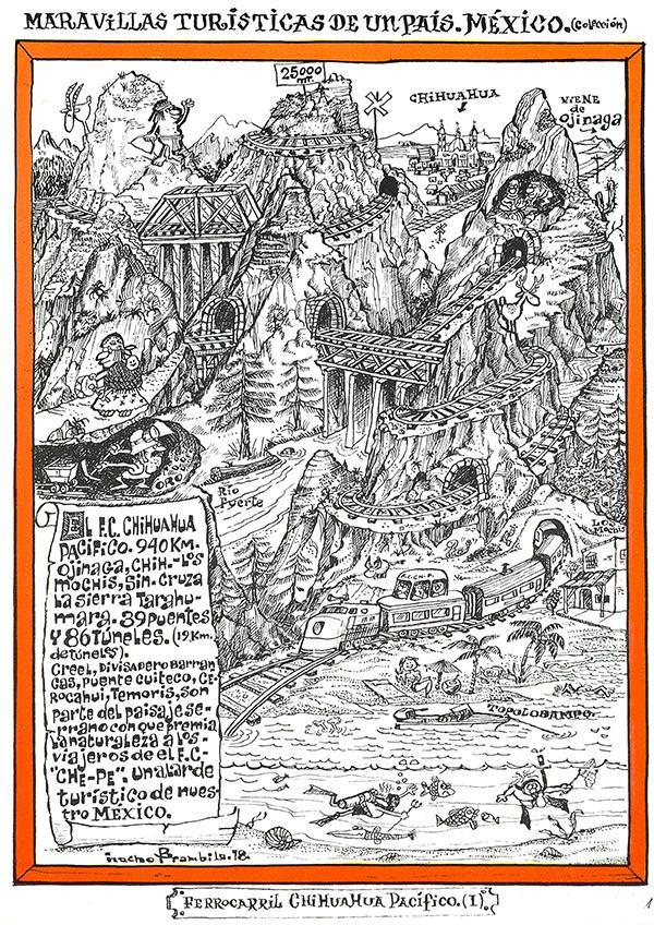 #JuevesRetro ¡Así se viajaba a las Barrancas del Cobre, #Chihuahua, en 1978! ¿Qué te parece? #TBT http://t.co/Kk4cC7N6OM