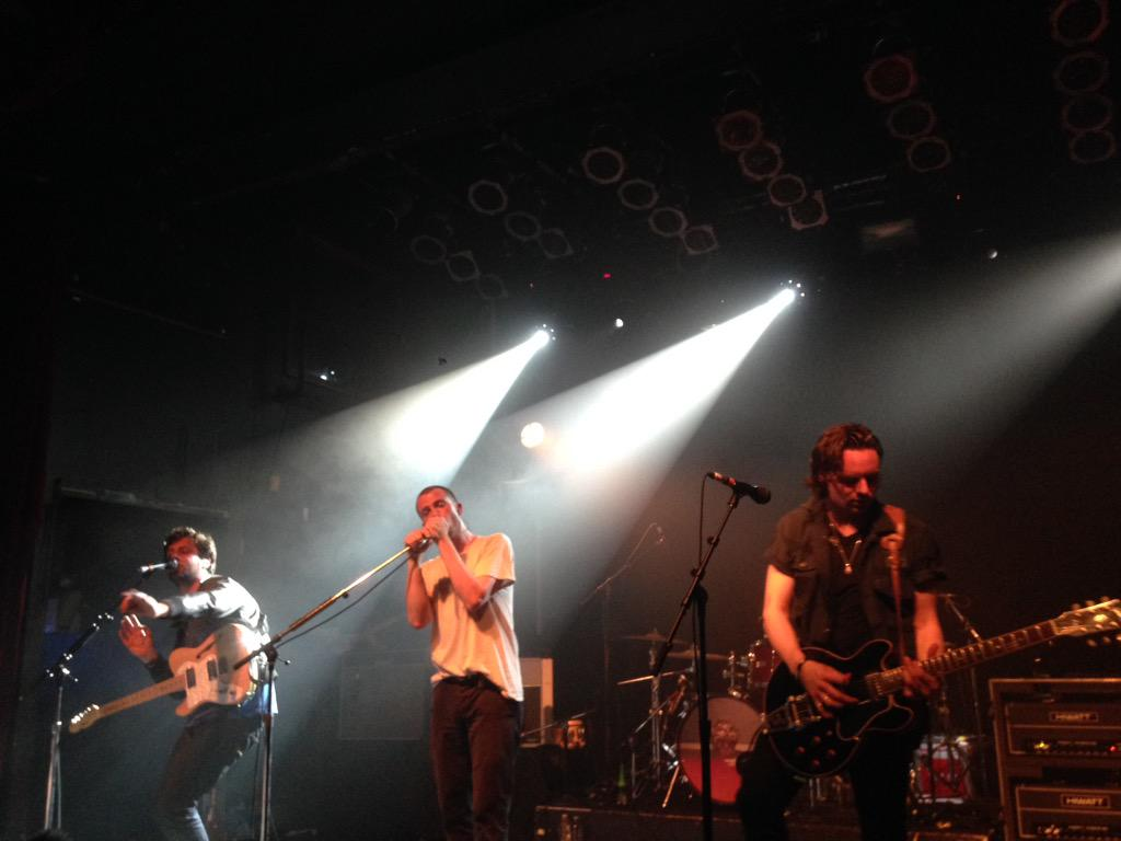 .@themaccabees blowin' the roof off the joint! #themaccabees #modclub #toronto http://t.co/7PVSGQX3sK