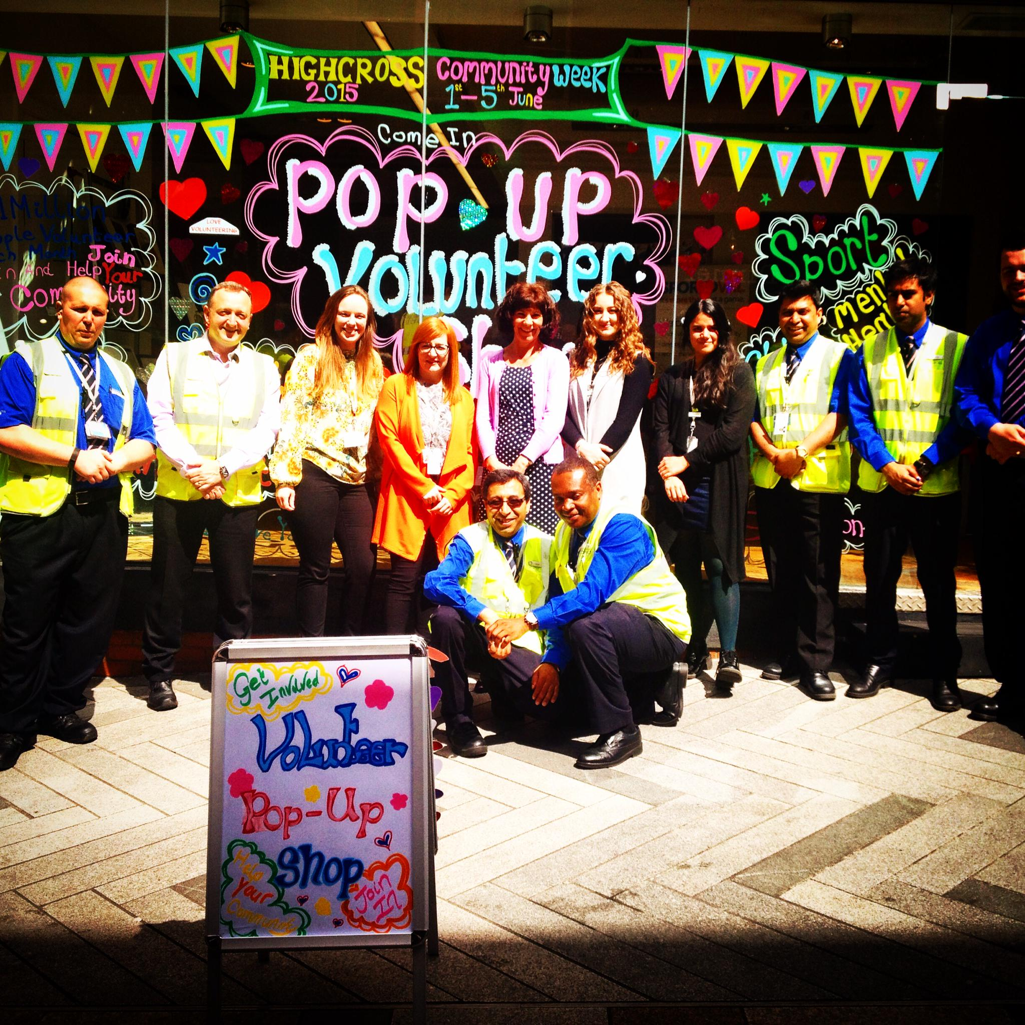 Great working with @VALOnline promoting #volunteering #opps @Highcross with their amazing staff supporting #NVW2015 http://t.co/QUATaMGPqp