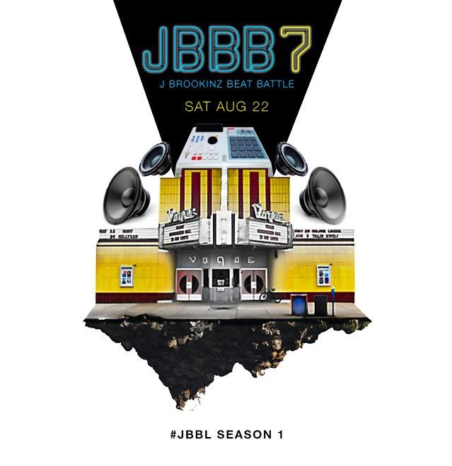 #JBBB7 Aug 22 @jbrookinz beat battle is 7 years STRONG! http://t.co/yD5HQ5nSIO