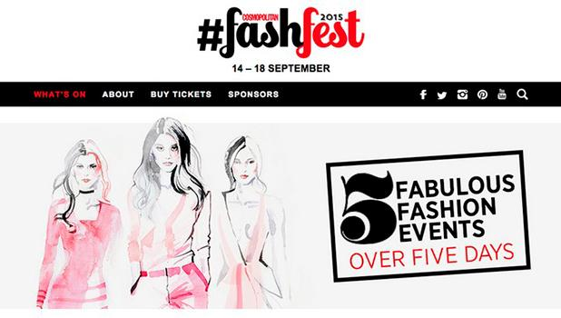 Cosmo's amazing fashfest with our glam friends over at @CosmopolitanUK is back! Get tickets: